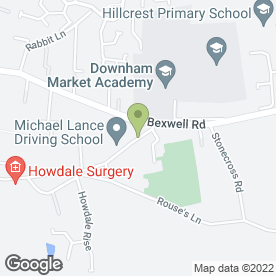 Map of ITF Taekwon-Do in Downham Market, norfolk