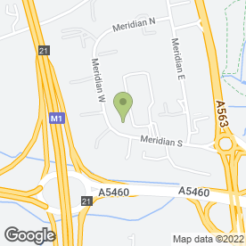 Map of Magna Parva Ltd in Meridian Business Park, Leicester, leicestershire