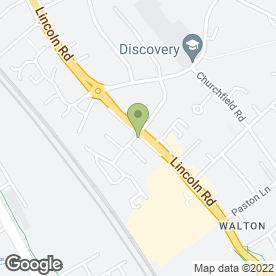 Map of walton sectional.co.uk in Peterborough, cambridgeshire