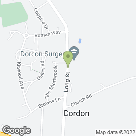 Map of Drs Bird, Brown, Gummery, Jacob, Gupta & Stevens in Dordon, Tamworth, staffordshire