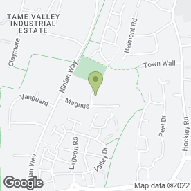 Map of TLD International Ltd in Wilnecote, Tamworth, staffordshire