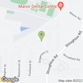 Map of Albany Roofing in Oadby, Leicester, Leicestershire