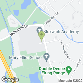 Map of Beechdale Neighbourhood Learning Centre in Walsall, west midlands