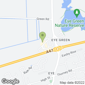 Map of Scrap Cars in Eye, Peterborough, cambridgeshire