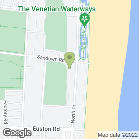 Map of Imperial Hotel (Gt Yarmouth) in Great Yarmouth, norfolk