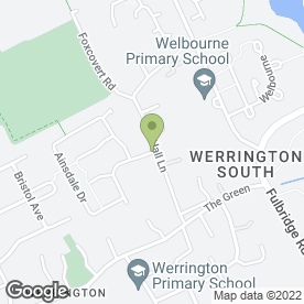 Map of East Anglia Heating Ltd in Werrington, Peterborough, cambridgeshire