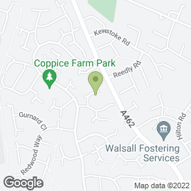Map of MC DECORATORS in Willenhall, west midlands