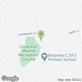 Map of Midland Driving School in Broseley, shropshire