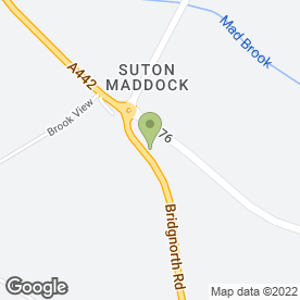 Map of Sutton Maddock Vehicle Rental in Telford, shropshire