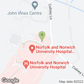Map of Busy Bees Nurseries Limited in Norwich, norfolk