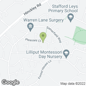 Map of LFE DRIVING SCHOOL in Leicester Forest East, Leicester, leicestershire