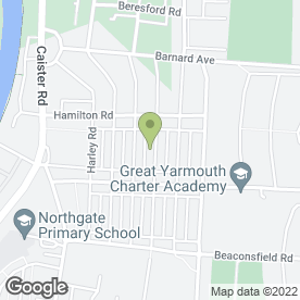 Map of Mansell Flooring in Great Yarmouth, norfolk