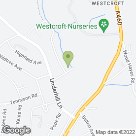 Map of Westcroft School & Sports College in Wolverhampton, west midlands