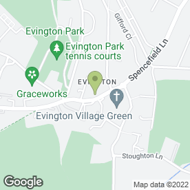 Map of EXCELSIOR CARPETS & FLOORING CONTRACTORS in Evington, Leicester, leicestershire