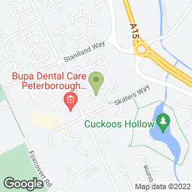 Map of Panda Driving School in Peterborough, cambridgeshire