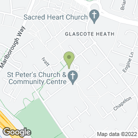 Map of Heathview Medical Practice in Tamworth, staffordshire