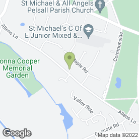 Map of Mini Digger & Driver 4 Hire in Walsall, west midlands