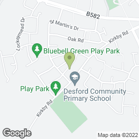 Map of BH Plant Hire in Desford, Leicester, leicestershire