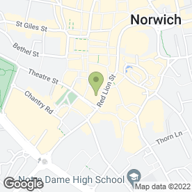 Map of Debenhams in Norwich, norfolk