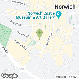 Map of Carphone Warehouse in Norwich, norfolk