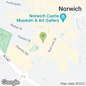 Map of McDonald's Restaurants Ltd in Norwich, norfolk