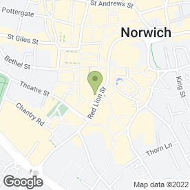 Map of Hot Chip Ltd in Norwich, norfolk