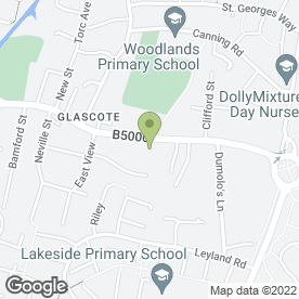 Map of Chiropody Associates in Glascote, Tamworth, staffordshire