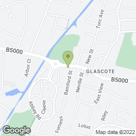 Map of Flicks Hair Design in Glascote, Tamworth, staffordshire