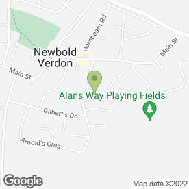 Map of Robert Redford Learner Driving Centre in Newbold Verdon, Leicester, leicestershire