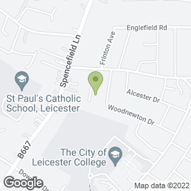 Map of Mike Jacobs Toastmaster in Leicester, leicestershire