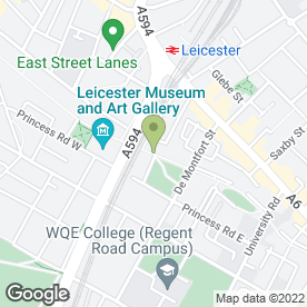 Map of Scutt Beaumont Solicitors Ltd in Leicester, leicestershire