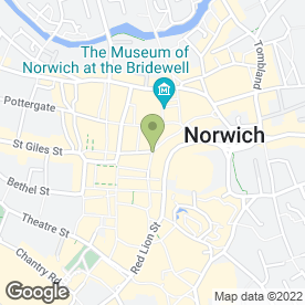 Map of NIGEL ALEXANDRE in Norwich, norfolk