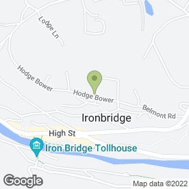 Map of Hems Ltd in Ironbridge, Telford, shropshire