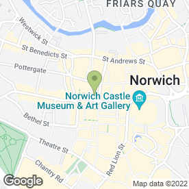 Map of The Lemon Tree in Norwich, norfolk