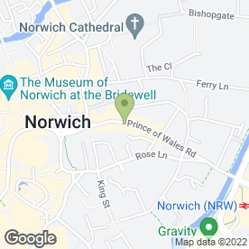 Map of Rehab in NORWICH, norfolk