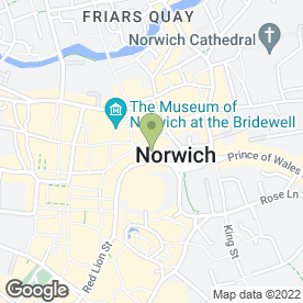 Map of Cozens-Hardy LLP in Norwich, norfolk