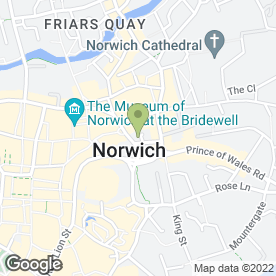 Map of Mills Knight in Norwich, norfolk