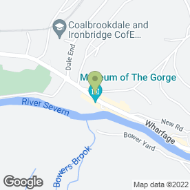 Map of Marie Baker in Ironbridge, Telford, shropshire