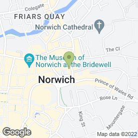 Map of Shipmans Sales + Lettings in Norwich, norfolk