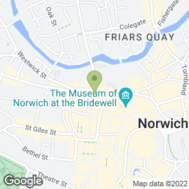 Map of Impact Hair & Beauty in Norwich, norfolk