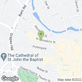 Map of Norwich English Private Tutor in Norwich, norfolk