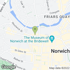 Map of Philip Noble & Son in Norwich, norfolk