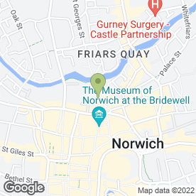 Map of JSM Property Management Ltd in Norwich, norfolk