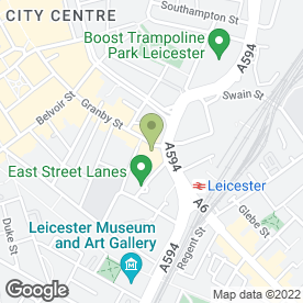 Map of Francesca Bridalwear in Leicester, leicestershire