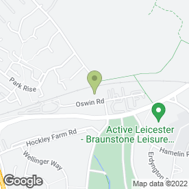 Map of Lighthouse Tuition in Leicester, leicestershire