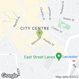Map of Dona Nicole in Leicester, leicestershire