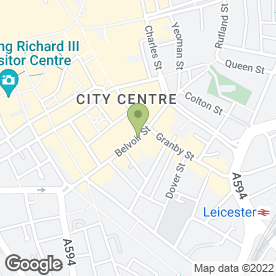 Map of Timberwise - The Property Care Experts in Leicester, leicestershire
