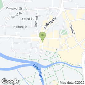 Map of Nationwide Joinery Contractors Ltd in Tamworth, staffordshire