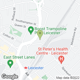 Map of The Beer Guys in Leicester, leicestershire