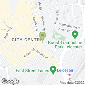 Map of Leicester Premier Estate Agents in Leicester, leicestershire